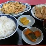 再莱 - 料理写真:日替りランチ 680円
