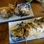 和泉屋 - 料理写真:アジ塩焼き(時価)