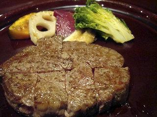 ステラマリス - 白老牛ヒレ肉コース9300円