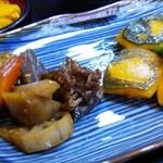 狐狸庵 - 定食の煮物