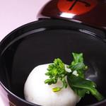 日本料理 日の出 - すっぽん真薯