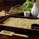 寿楽庵 - 料理写真:前日までの予約制メニュー!「十戸清水の板蕎麦」