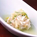 日本料理 日の出 - 蟹生姜酢