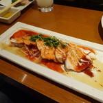 炭匠きしもと - 蒸し鶏 韓国風
