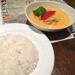 カフェ ド ガバチョ - red curry