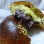 パンやきどころ RIKI - 少し柔らかめの粒あん