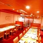 美濃吉 - ホール席は18~25名様まで個室としての利用も可能です
