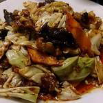 好味苑 - 好味苑 @本蓮沼 たっぷりの豚肉・キャベツと人参・木耳が使われる濃い目の味付けのホイコーロー