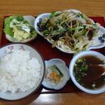 Ponyuu - レバニラ炒めセット