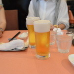 蔭山樓 - 生ビール中
