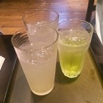 加賀屋 - ライムサワー&レモンサワー