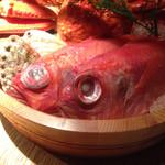 踊る魚 - 2014/5/某日 メインは当然、金目の煮付け!