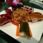 老香港酒家京都 - 前菜盛り合わせ