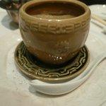 老香港酒家京都 - すっぽんと極上フカヒレの蒸しスープ