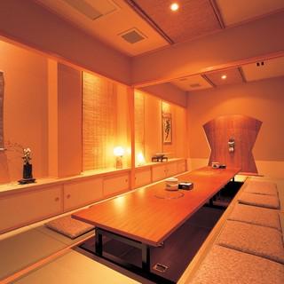 ≪最大50名様迄可能≫日本情緒漂う、寛ぎの美食空間。
