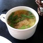 丁田屋 - 豆腐のみそ汁(2014/6)