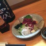 味彩 - オススメの馬刺しと日本酒!! とりあえず、うまい!