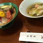 27889391 - 前菜と新鮮で美味しいお刺身!