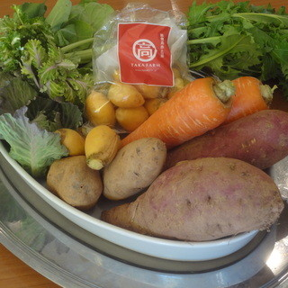 野菜も産地直送