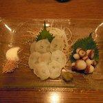 酒菜ゐとう - 福島産・生たこ刺 (750円)