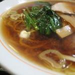錦乃 - あっさり醤油味。