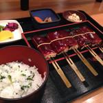 鈴の屋 - 菜めし田楽定食 2014.06