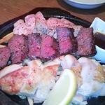 27893835 - 俺の肉の盛り合わせ ハーフサイズ¥1600
