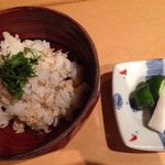 tousairyourihanasabi - コースのご飯