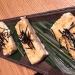 tousairyourihanasabi - コースの豆腐ステーキ