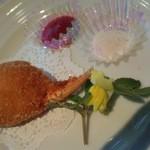 中国レストラン 胡蝶花 - 蟹の手の揚げ物