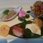 中国レストラン 胡蝶花 - 特製盛り合わせ前菜