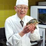日本料理 日の出 - 浜名湖産すっぽん