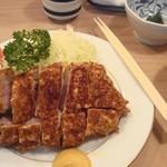 とんき - とんき ロースかつ定食