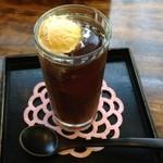 京都大原の味噌鍋専門店 雲井茶屋 - コーヒーフロート(白みそアイス)570円