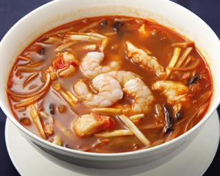 中国薬膳料理 星福 - 酸辛麺