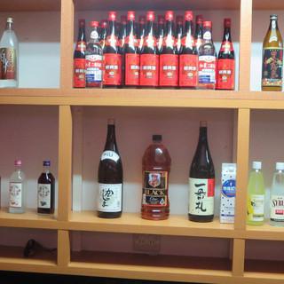 【お酒の種類が豊富】ワイン・ウイスキー・焼酎・日本酒・中国酒