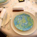 レストラン・モリエール - 最初のテーブルセット