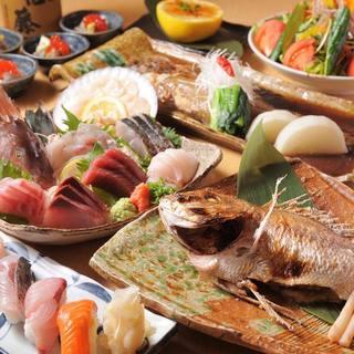 魚づくしの宴会コース!