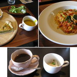OPS cafe - OPSオプスランチ1400円  2014.5.16撮影