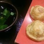 ぶぶ亭 - 明石焼き 520円 味は普通。