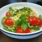 ZⅡ - 本日のパスタ 彩り野菜のレモン風味塩パスタ