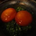 27909927 - 卵黄の醤油漬け