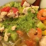 麺処hachi - 2年前の毎月冷やしを変えてた頃感銘を受けた、「城島園芸さんの胡瓜の冷やしラーメン」の味ではないか!