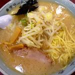 東京ラーメン 大番 - 大番ラーメン大盛り脂多め12年9月