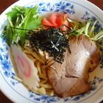 特製もりそば 瑛 - 冷麺(胡麻ダレ)