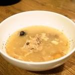 焼肉問屋 くに家 - 2014.6 サムゲタンスープ(600円)