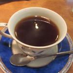 牛亭 - 最後はコーヒーをいただいてこの日のランチは終了です。