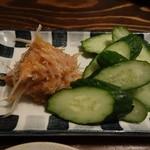 あさり食堂 - 梅ナンコツ 480円(外税)
