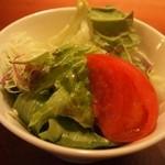 さん源 - セットのサラダ