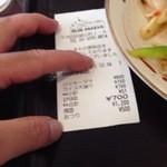 ブルーパパイヤ - 大盛100円なのに(-_-;)